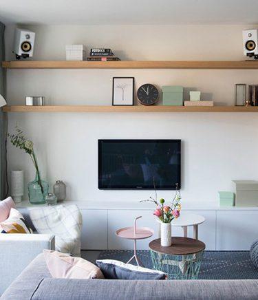 créer un coin télé dans son salon